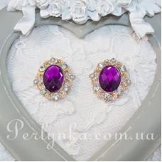 """Декоративна серединка """"Фіолетова"""""""