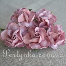 Троянда 4,5см бузкова
