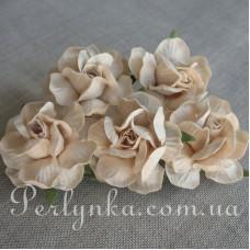Троянда 4,5см кремова