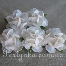 Троянда 4,5см сніжно біла
