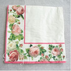 Серветка Троянди хустинка-2