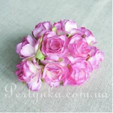Троянда 3см фіолетова