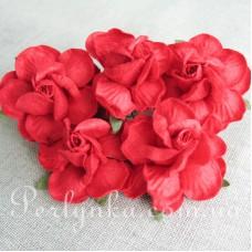 Троянда 4,5см червона
