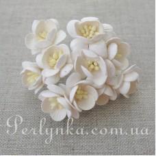 Цвіт вишні 2,5см білий