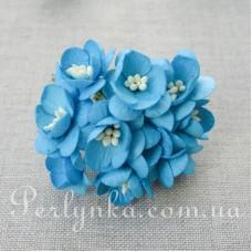 Цвіт вишні 2,5см голубий